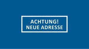 Achtung! Neue Adresse