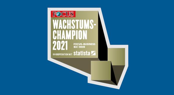 Focus Wachstums-champion 2021 Logo